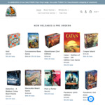 Azul $53.95, Carcassonne $51.95, Pandemic $53.95, Catan $59.95, Gloomhaven $164.95 & More with Free Delivery @ Games Bandit