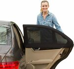 Xcellent Global Set of 2 Car Window Shade Covers $11.99 + Delivery ($0 with Prime/ $39 Spend) @ Xcellent Global via Amazon AU