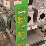 gomo $25 SIM Starter Pack (18GB) Credit for $12.50 @ Kmart