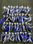 40/100pcs X Small New Generation Quality Surf Poppers Blue Colour from $29.90 Delivered @ Bait Tackle Direct