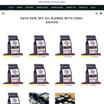 20% off Airjo Coffee Beans + Free Express Delivery @ Airjo Coffee Roasters