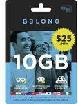 Belong $25 Starter Pack (20GB) for $10 C&C /+ Delivery @ Officeworks