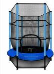 4.5ft Kids Trampoline Round Indoor Outdoor Junior Enclosure Safety Net Jumping Blue $89 Delivered @ Superhobbystore eBay
