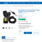 Evakool Batterybox Kit $99 + Shipping @ Evakool
