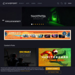 [PC, Quest, VR] 1 Month Free Trial Viveport Infinity: Play Over 500 PC VR Games for Oculus Quest for Free @ Viveport