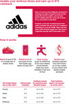 Up to $75 Cashback off Selected adidas Shoes (Min Spend ≥ $100 on a Single Pair) via AIA Vitality App