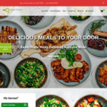 [VIC] Family Meals (Serves 4) - Buy One Get One - $40 + $7.95 Delivery (Melbourne Only) @ Gourmeal