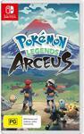 [Pre Order, Switch] Pokémon Legends: Arceus + Steelbook $69 + Delivery (Free C&C) @ JB Hi-Fi | $68 + Delivery @ The Gamesmen