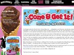 FREE Scoop of Ice Cream. Free Cone Day 3 Apr in Gold Coast, Sydney and Melbourne