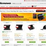 Lenovo Click Frenzy 24 Hour Sale 20 Nov 2012 Upto 20% off ThinkPad & ThinkCentre