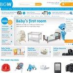 BigW $10 eVoucher ($50 Min Spend) - Need to Register for eNewsletter