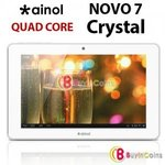 "7"" Ainol Novo 7 Crystal Quad Core Android 4.1 Tablet PC 8GB 1GB RAM WIFI Camera - $93~ BiC"