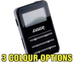 LASER 4GB MP3 Player with Radio & Voice Recording - $1 + $6.95 Shipping