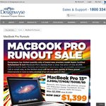 "MacBook Pro 15"" 2.2GHz/i7/4GB/750GB/SD $1399.00, +50%off AppleCare. Designwyse Victoria,"