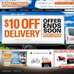 Anaconda: 31/10: Dune Razorback Compressor $50 (40%off), 1/11: Spintex Stoves 50% off +More