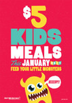 $5 Kids Meals for The Month of January - Available at 226 Venue in QLD, VIC, WA, SA, NSW, TAS