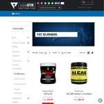 10% off all FAT BURNER Supplements at coreSTR