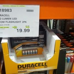 Duracell 500 Lumen LED Zoom Flashlight 2 Pack with Batteries $19.99 @ Costco Canberra