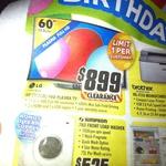 """LG 60PN6500 60"""" Full HD Plasma TV $899 @ TGG"""