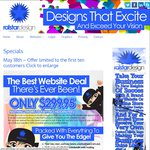 Brand New Business Website - Free Custom Logo - 24 Months Domain and Hosting - ONLY $299.95