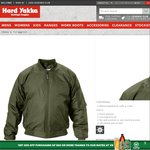 Flying Jacket $20 (Save $42.95) Delivered @ Hard Yakka