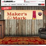 Makers Mark Bourbon $10 off Voucher from CCA Clubhouse for 1st Choice & Liqourland