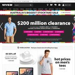 """Myer Boxing Day Sale. up to 75% OFF, Bose Sound Dock Series III $149, Apple 21.5"""" iMac $1149,"""