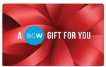 7.5% off $100 and $200 Big W eGift Cards @ Groupon