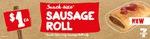 1/2 Price Snack Sausage Rolls $1 @ 7-Eleven