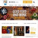 BOGOF General Admission Good Food and Wine Show 2015 ($17.00 Melb, $17.50 Perth)