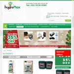 Hydroponic Nutrient Part AB Complete Nutrition, from $30 @ Hydromax