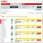 Coles - Cetaphil Gentle Skin Cleanser 500ml $11 (Save $7), Moisturising Lotion 500ml $11.50