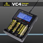 XTAR VC4 NiMH/Li-Ion 4 Slot Battery Charger $19.99 USD (~ $26.23 AUD) Delivered @ GearBest