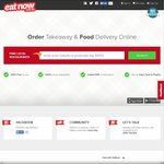 12% off Your Order (Minimum Spend $20) @ Eat Now