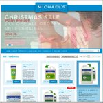 Free 125g Aloe Vera Gel w/ Purchase + 15% OFF at Michael's Products Sat 12th December