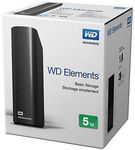 """WD Elements USB 3.0 3.5"""" External Hard Drive - 5TB *Sold Out* ($191), 4TB ($164), 3TB ($128) Delivered @ Futu Online eBay"""