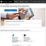 Macquarie Bank Transaction Account No International Transaction Fees from 14 July 2016