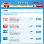 Dreamworld / WhiteWater World / Skypoint - Season Pass - Adult - $82.95 (Save $36.05), Child / Pensioner - $62 (Save $37)