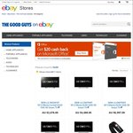 """LG OLED TV's 55"""" 1080p $2142.40, 55"""" 4K $3590.40, 65"""" 4K $5,997 @ The Good Guys eBay Store"""