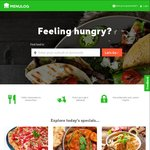 $10 off @ Menulog (Delivery Only)