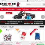 Further 10% Discount off Already Reduced Prices Sitewide @ Bags to Go