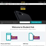 10% off Optus 24 Month Phone Plan or SIM Only Plan for Having a .EDU Email Address