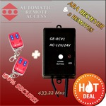 $105.60 Two Garage Door Remote Controls & Frequency Receiver + Shipping (36% OFF with Coupon Code) @Araccess.com.au