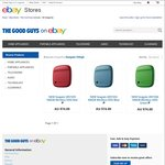 Seagate 500GB Wireless Portable Hard Drive [3 Colours Available] $59.2 C&C or ($5.06 Postage) @ The Good Guys eBay
