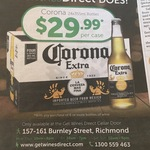 Purchase 6+ Bottles of Wine & Get a Corona 24pk for $29.99 @ GetWinesDirect [Richmond, VIC]