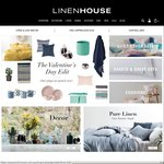 Linenhouse - 2 Face Towels, 18 Hand Towels, 2 Bed Valances & 1 Queen Quilt Cover Set for $75.20 Incl Shipping
