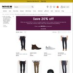 20% off Mens Clothing (When You Spend $100+) @Myer