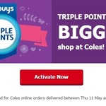 Enjoy Triple Flybuys Points at Coles