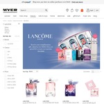 Myer - Spend $75 and Get Free Lancome Gift with Purchase