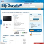 LG Neo Chef 42L 1200w Microwave $213 + Shipping @ Billy Guyatts